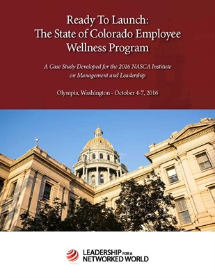 Ready to Launch: The State of Colorado Employee Wellness Program