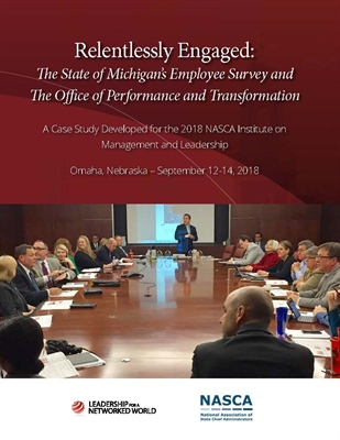 Photo of Relentlessly Engaged: The State of Michigan's Employee Survey and The Office of Performance and Transformation Publication